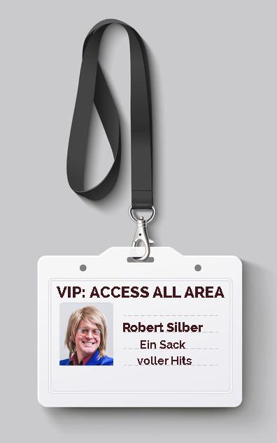 Robert Silber Webseite Backstage