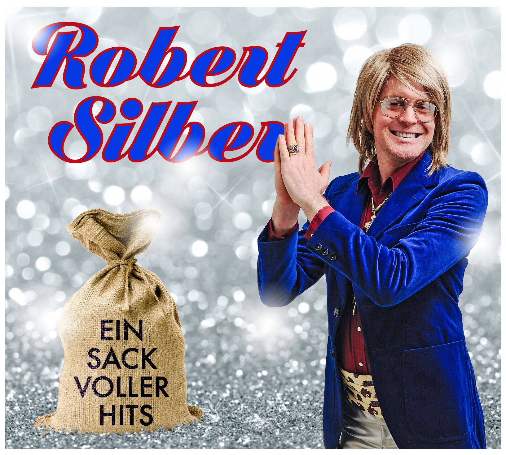 "Robert Silber ""Ein Sack voller Hits"" CD Cover"